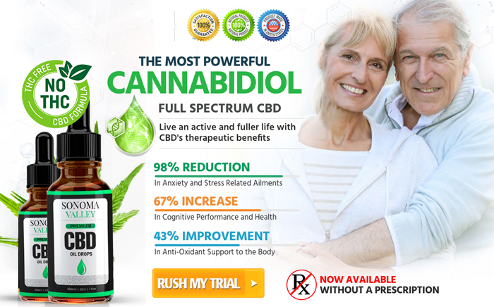 Buy Sonoma Valley CBD Oil