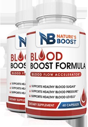 Natures Boost Blood Formula