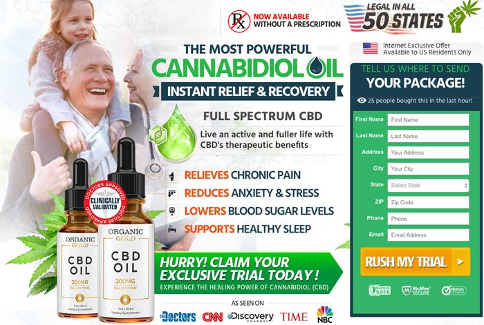 Organic Gold CBD Oil Review