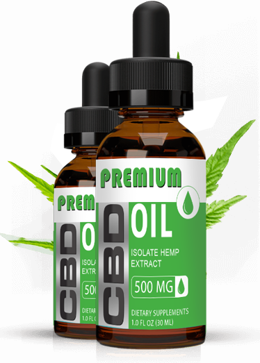 Premium CBD Isolate Hemp Oil