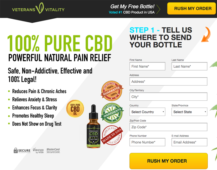 Veterans Vitality CBD Oil Review