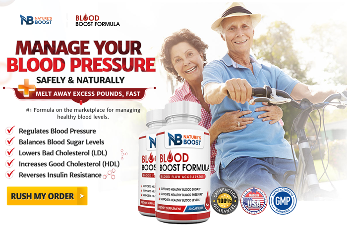 Commander Natures Boost Blood Formula