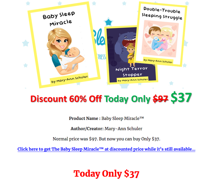 Baby Sleep Miracle PDF Review