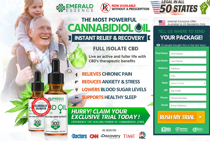 Emerald Essence CBD Oil Review