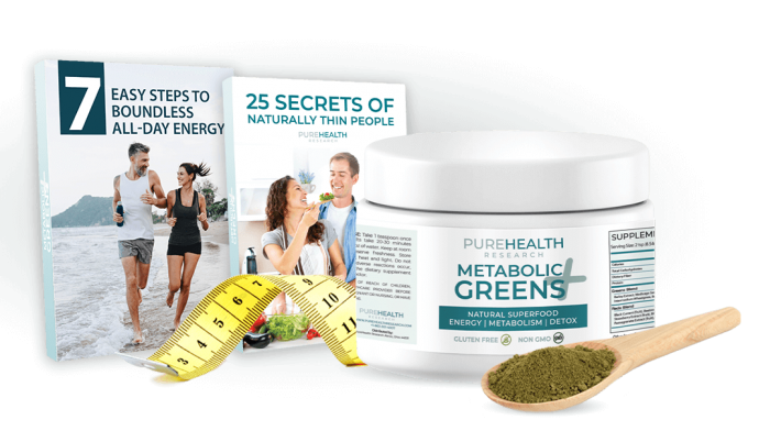 Pure Health Research Metabolic Greens-plus