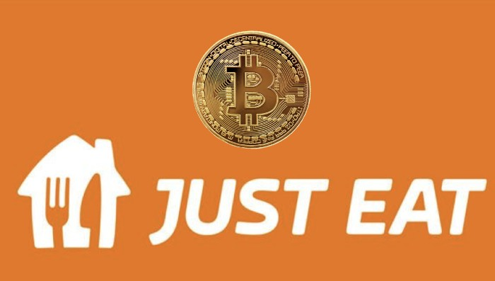 Just Eat Adds Bitcoin