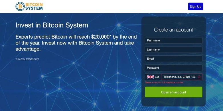 Bitcoin System England