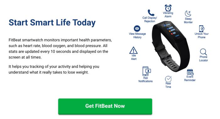 fitbeat smartwatch
